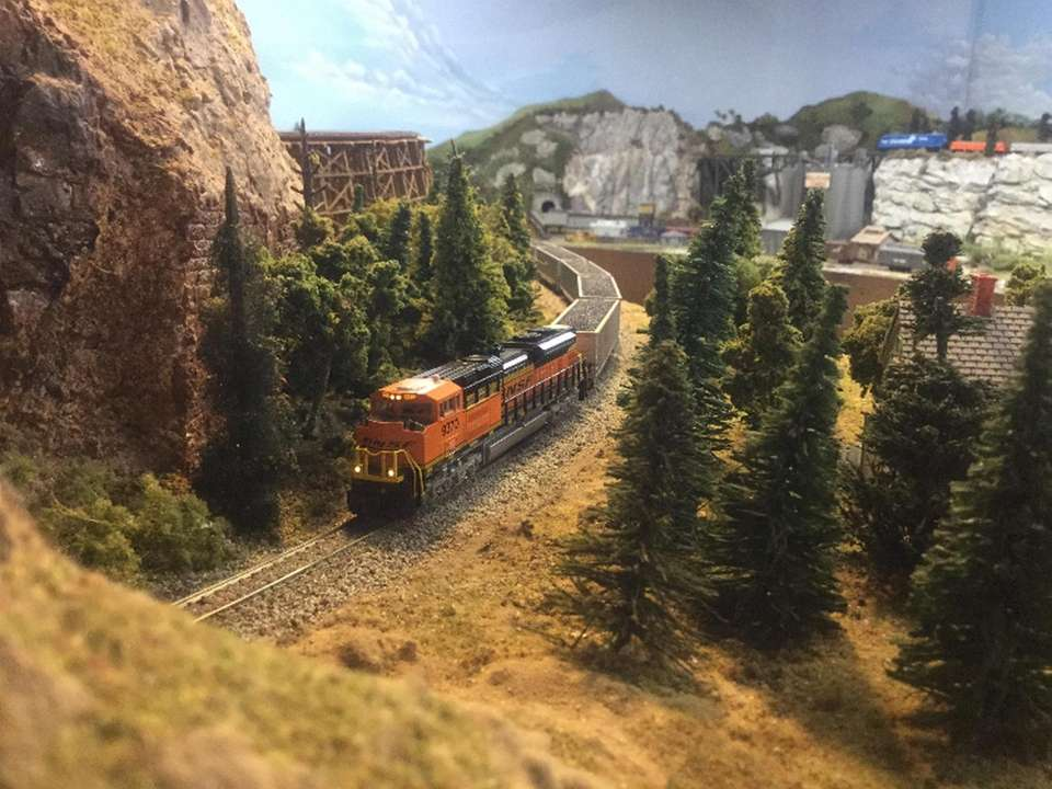 The Long Island Model Railroad Engineers operates two