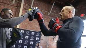 Chuck Liddell and Tito Ortiz, both former UFC