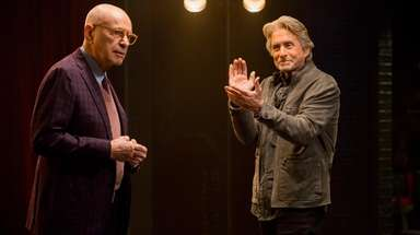 "Alan Arkin and Michael Douglas in Netflix's ""The"