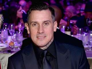 Carey Hart at the pre-Grammy Awards gala in