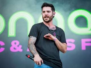 Jon Bellion performs at the 2017 Bonnaroo Music