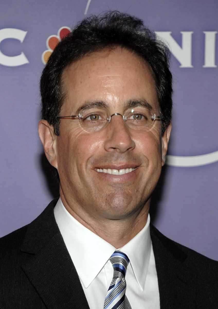 Jerry Seinfeld, comedian, actor and writer, grew up