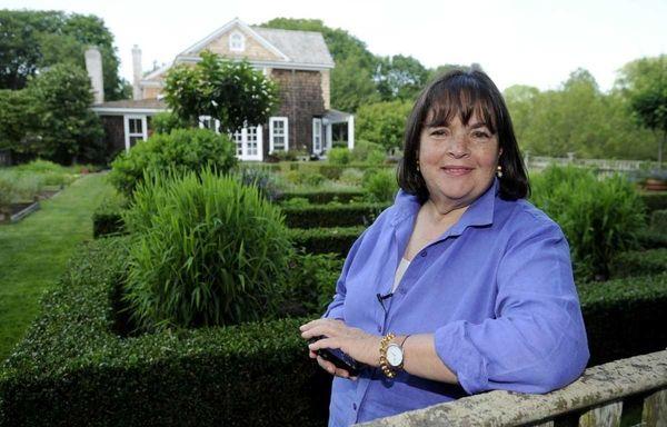 Ina Garten, author, host of the Food Network