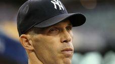 Manager Joe Girardi #28 of the New York