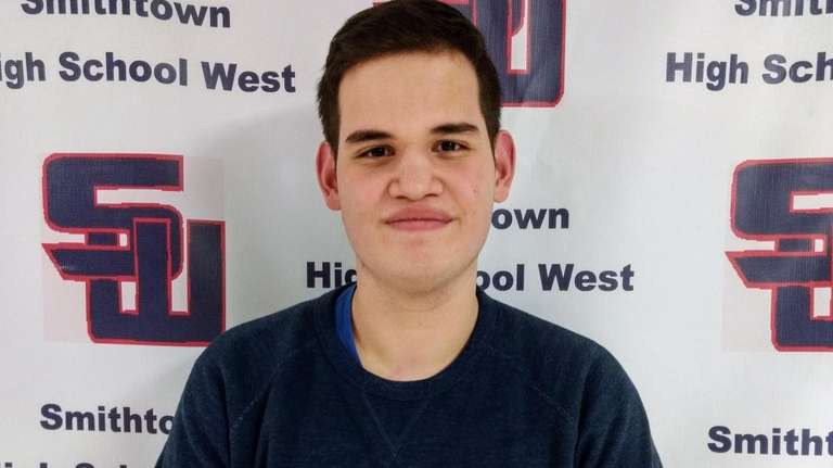 James Rogers, 17, of Smithtown High School West,