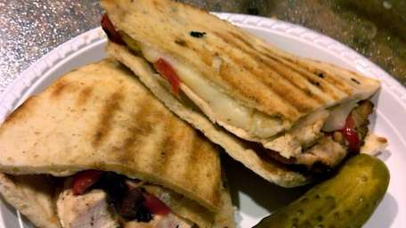 Panino sandwich from Gabby's Bagelatessen in Syosset and