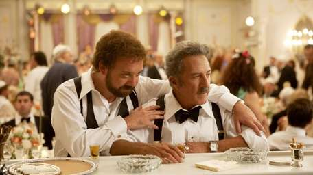 Paul Giamatti and Dustin Hoffman in