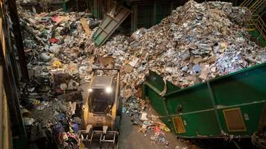 Town of Brookhaven Materials Recycling Facility in Brookhaven