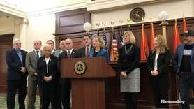 On Thursday, Nassau County executive Laura Curran announced