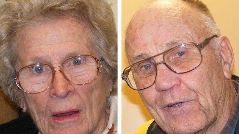 Composite photo of Marian Rogan (left) and John