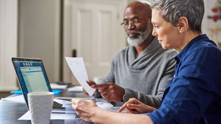 Getting financially healthy requires setting a budget, reviewing