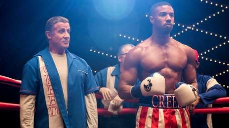 Sylvester Stallone stars as Rocky Balboa and Michael