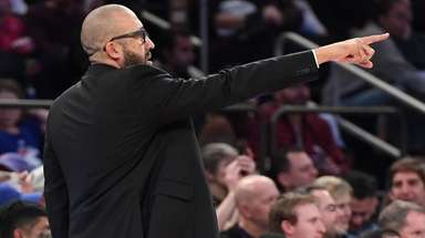 Knicks coach David Fizdale has been juggling his