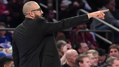 Knicks coach David Fizdale has been juggling his