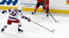 New York Rangers center Ryan Spooner (23) and