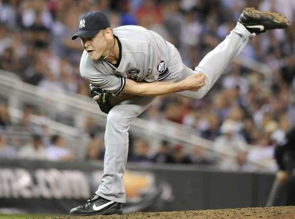 Kerry Wood of the New York Yankees