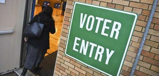 Voters turn out on Election Day at the