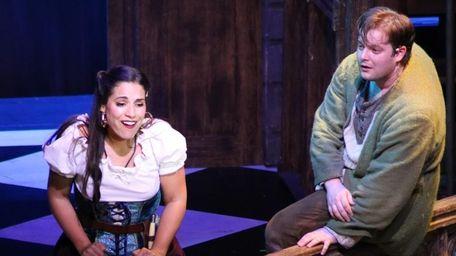 Rockville Centre native Gina Naomi Baez plays Esmeralda,