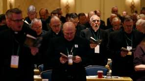 Members of the U.S. Conference of Catholic Bishops
