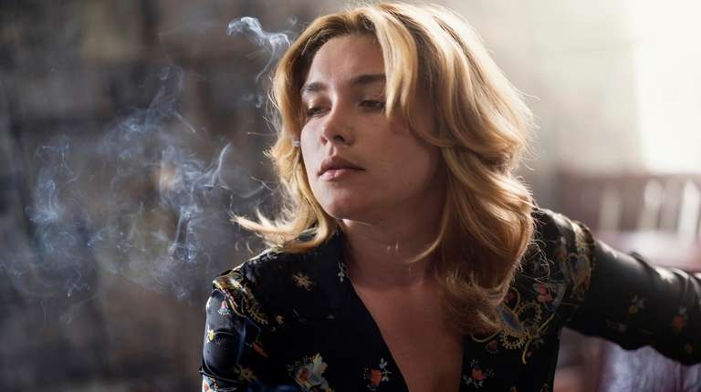 "Florence Pugh in ""The Little Drummer Girl."""