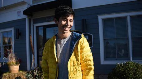 Ken Inoue in Bay Shore on Oct. 25.