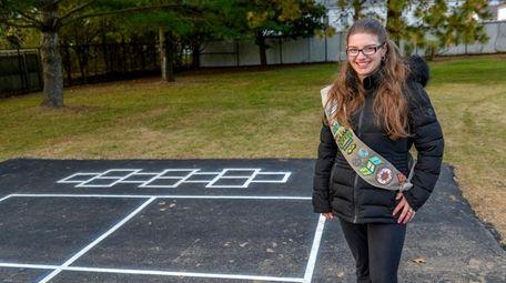 Ashley Tarricone raised money to help fund park