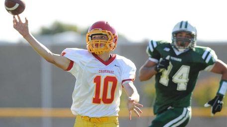 Chaminade High School quarterback #10 Kyle Johnson