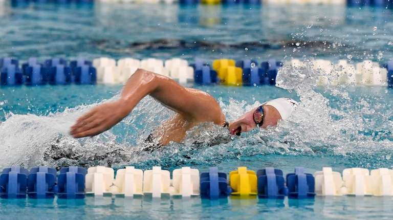 Northport's Chloe Stepanek swims in a preliminary heat