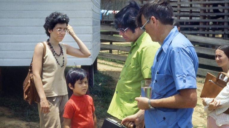 Long Island native Harriet Tropp in Jonestown with