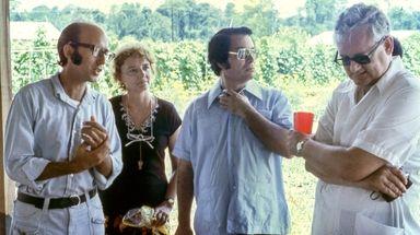 From left, Long Island native Richard Tropp in