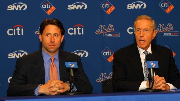 Jeff Wilpon, chief operating officer of the NY