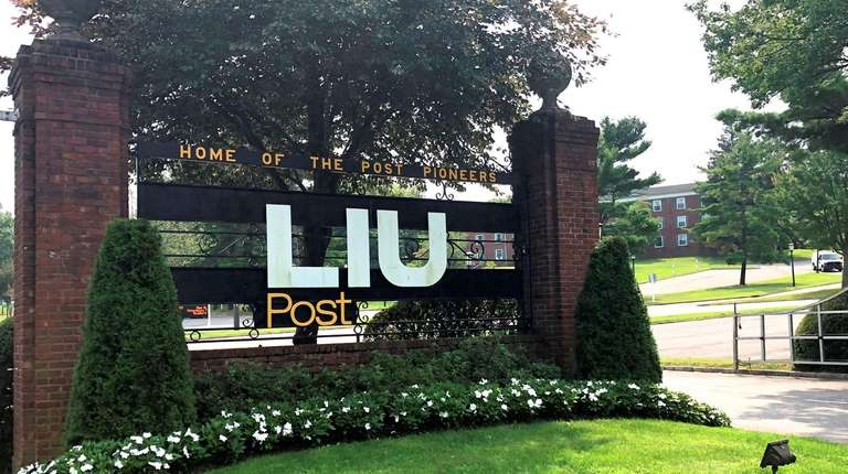An LIU Post spokesman said the university had