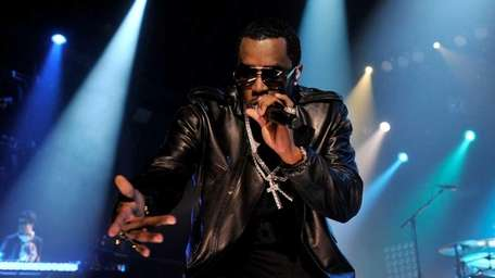 GLASGOW, SCOTLAND - SEPTEMBER 29: P Diddy and