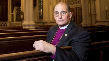 The Right Rev. Lawrence Provenzano led a group