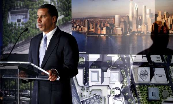 Gov. David Paterson addresses the media. (Sept. 7,