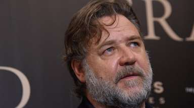 Russell Crowe attends the New York screening of