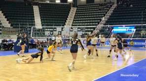 Long Beach defeated Victor, 25-23, 26-24, 25-22, to