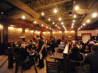 Diners fill tables at Ragazzi Italian Kitchen &