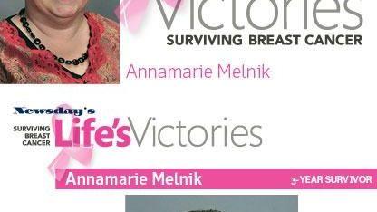When Annamarie Melnik first heard the news she