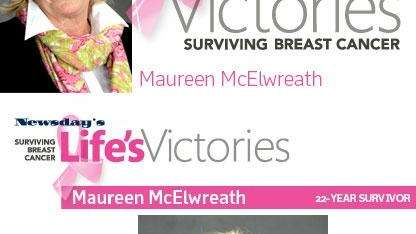 After a lumpectomy, followed by chemotherapy and radiation,