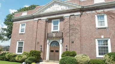 Babylon Village Municipal Hall on Main Street on