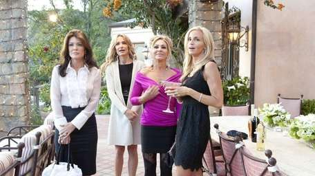 Lisa VanderPump, Taylor Armstrong, Adrienne Maloof and Camille