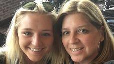 Christina Leonard, right, 53, of Rockville Centre, shared