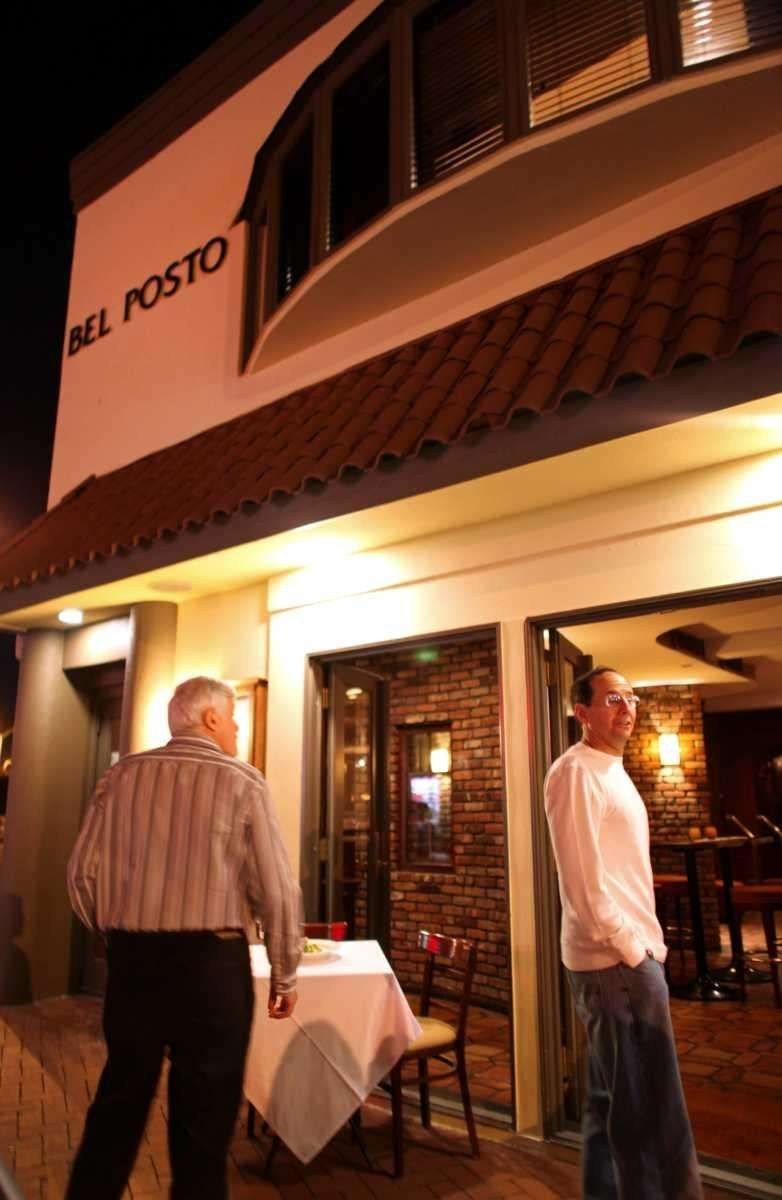 Bel Posto restaurant is at 15 New St.