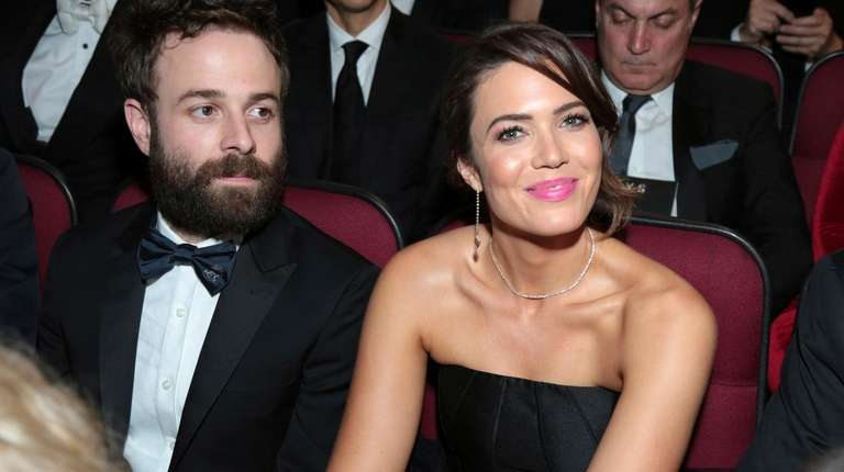 Taylor Goldsmith, left, and Mandy Moore at the