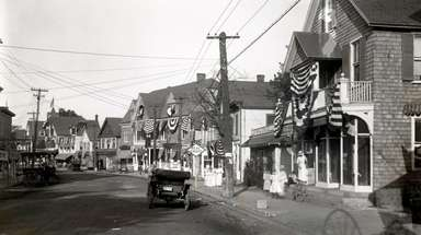 Main Street in Bay Shore in the late