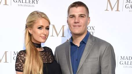 Paris Hilton and Chris Zylka became engaged