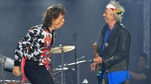 Mick Jagger, left, and Keith Richards of The
