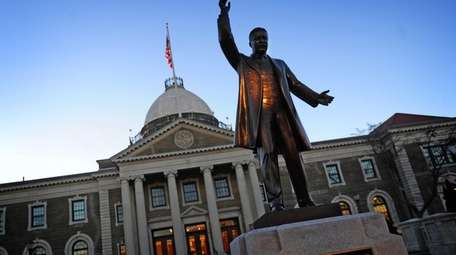 The Theodore Roosevelt Executive & Legislative Building in