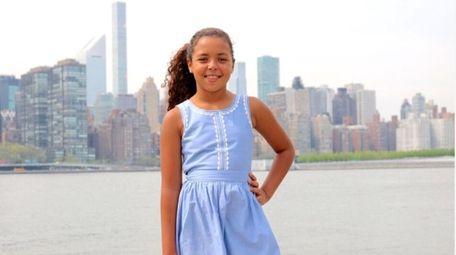 Carmela Coleman, a student at Laurel Hill School